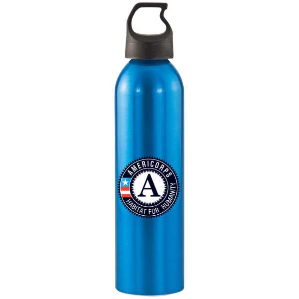 Customized Patriot 24 oz. aluminum bottle