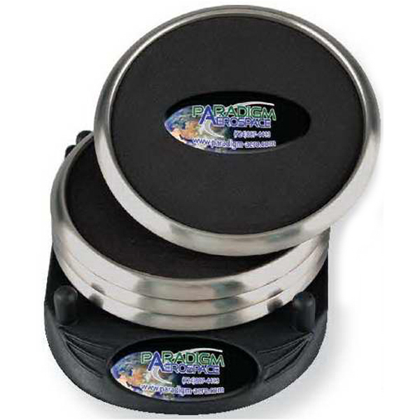 Imprinted PhotoVision Stainless steel coaster