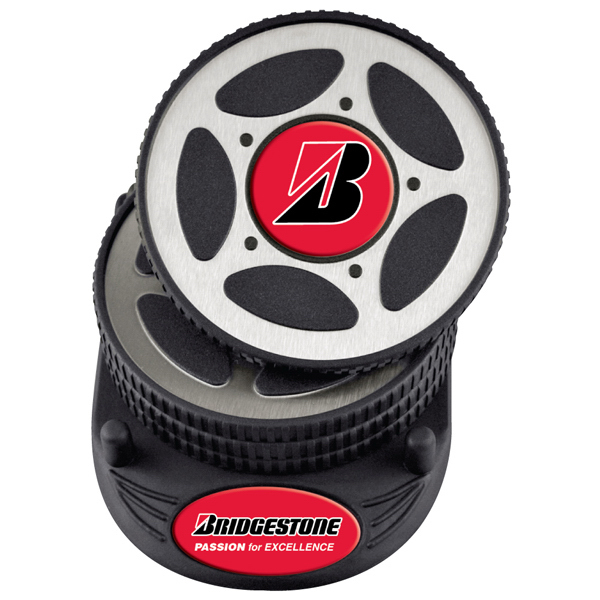 Custom PhotoVision 4pc Tire coaster set