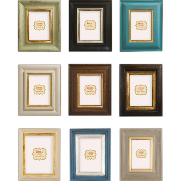 Custom Carved Wood Collection Frame