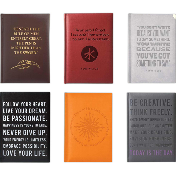 Imprinted Lofty Thinking Journal