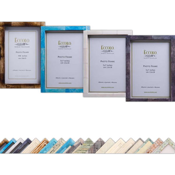 Personalized Naturals Collection Simple Horn Frame