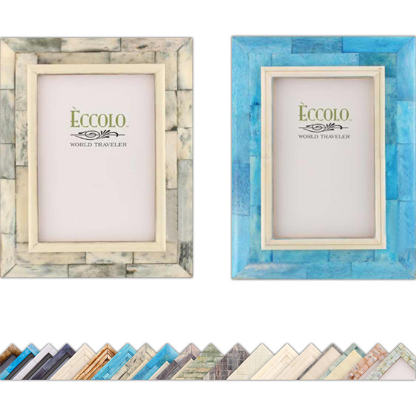 Personalized Naturals Collection Old Bombay Sloped Edges Frame
