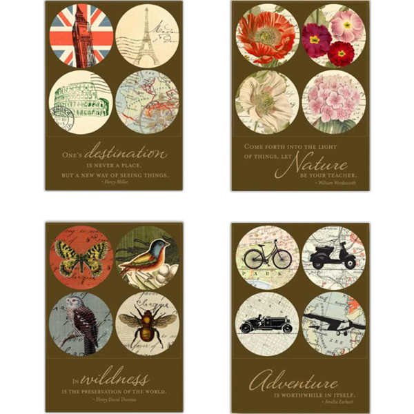Customized World's Fair Collection Magnet Boxed Set