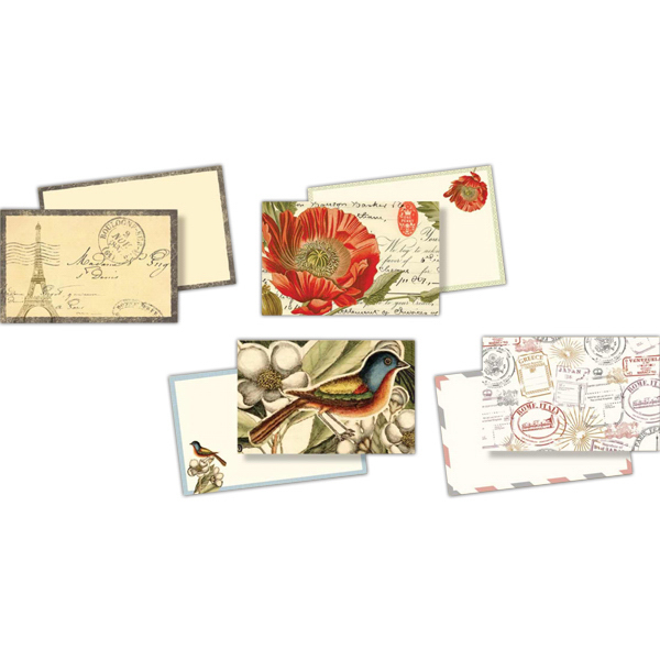 Imprinted World's Fair Collection Notecard Pack