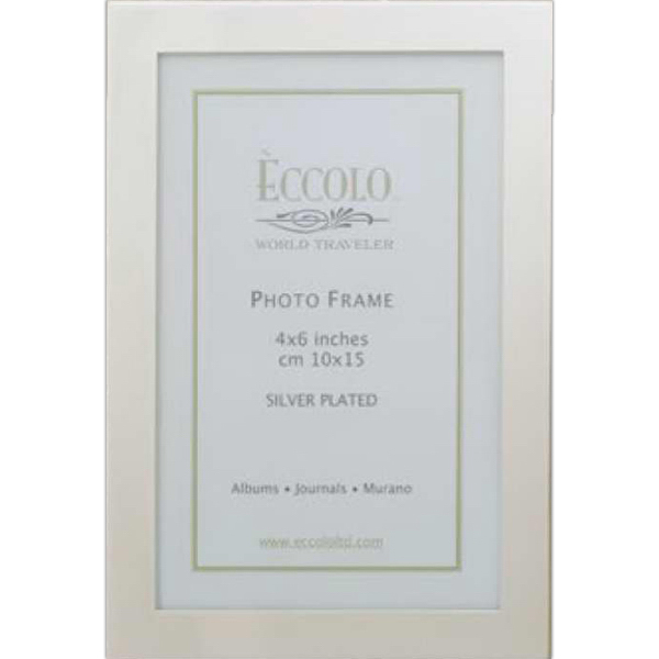 Imprinted Silver Collection Simple Elegance Frame