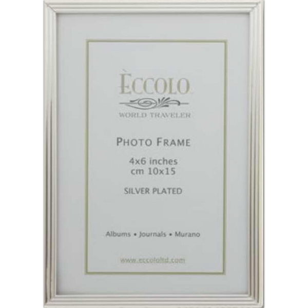 Promotional Silver Collection Striped Frame