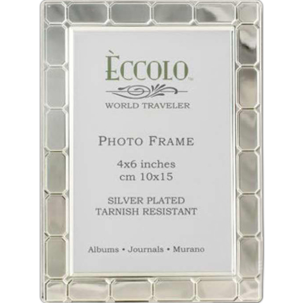 Printed Silver Collection Gatsby Frame