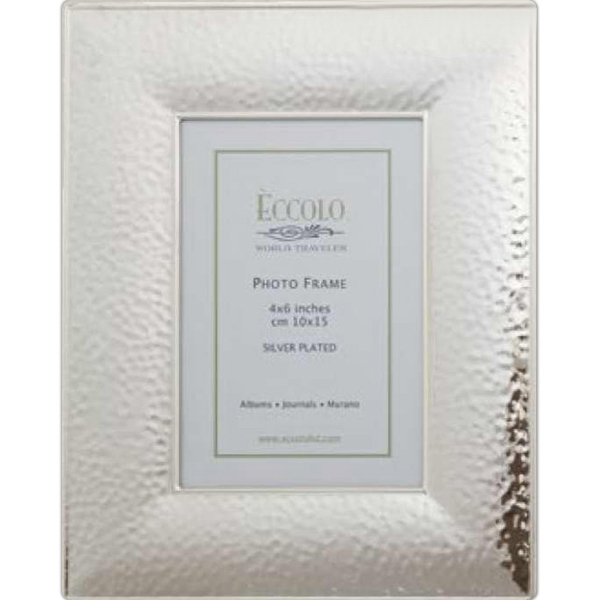 Imprinted Silver Collection Hammered Frame