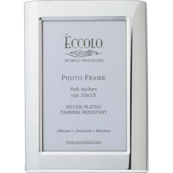 Printed Silver Collection Tondo Frame