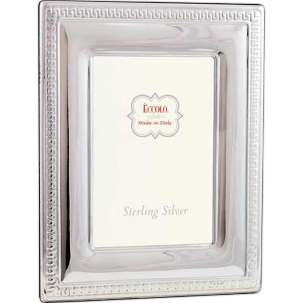 Customized Sterling Collection Greek Key Frame