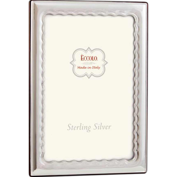 Customized Sterling Collection Wavy Frame