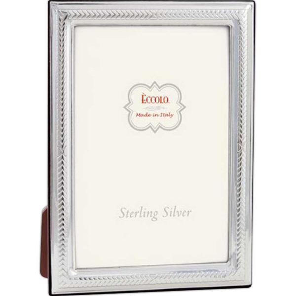 Customized Sterling Collection Chevron Frame