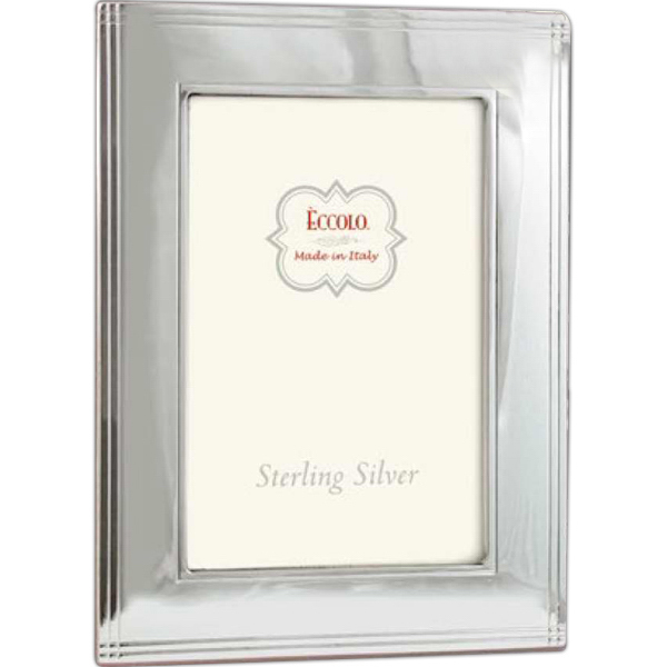 Customized Sterling Collection Chased Border Frame