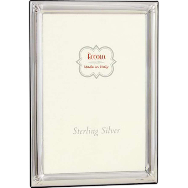 Imprinted Sterling Collection Fleur De Lis Frame