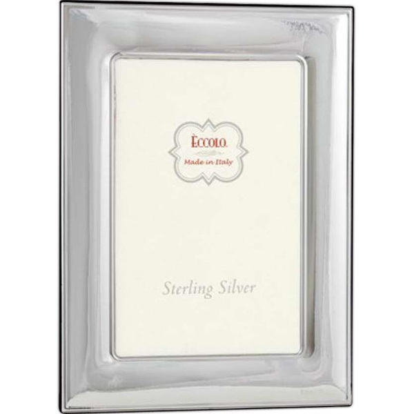 Printed Sterling Collection Wide Smooth Frame