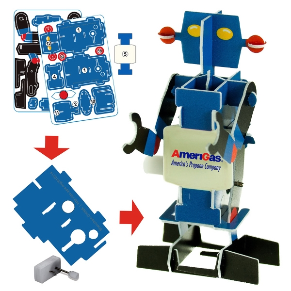 Imprinted Puzzle Robot