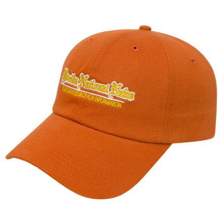 Customized Medium Profile Brushed Cap