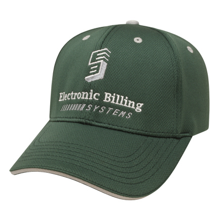 Imprinted Medium Profile Wicking Mesh Sandwich Cap
