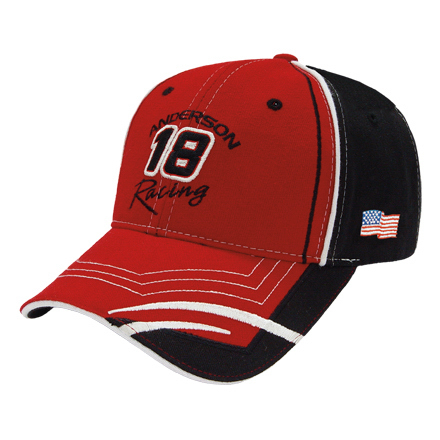 Customized Medium Profile Normal Brushed Cap with Visor Inserts