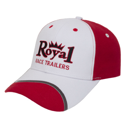 Promotional Medium Profile Brushed Cap with Visor Inserts