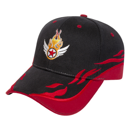 Promotional Medium Profile Brushed Cap With Accents