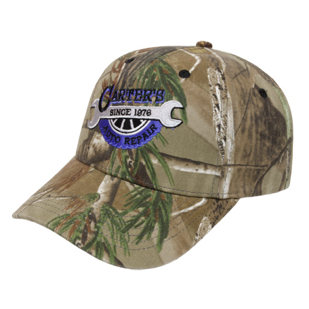 Personalized Medium Profile Camo Cap
