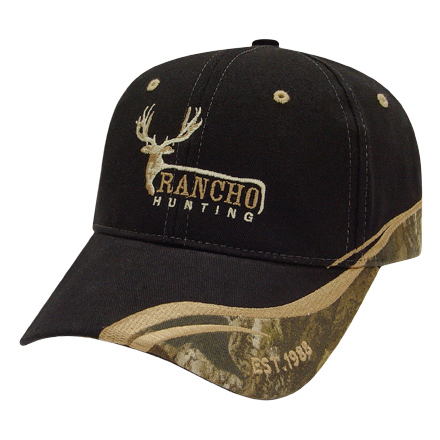 Promotional Medium Profile Cap with Camo Fabric Insert