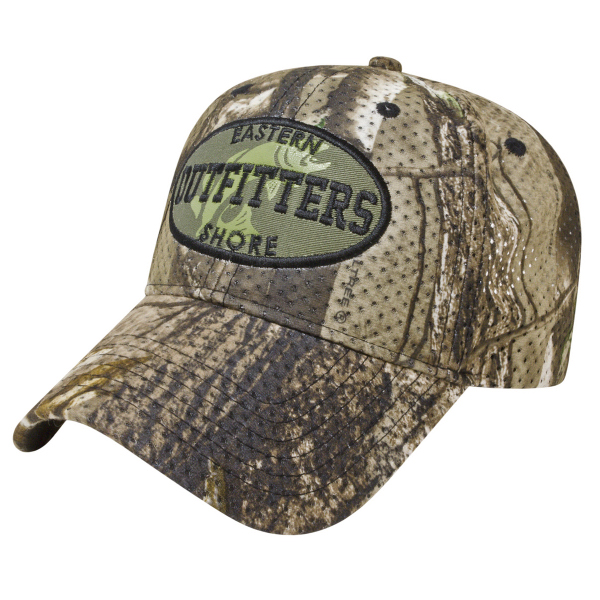 Imprinted Large Mesh Camo Cap
