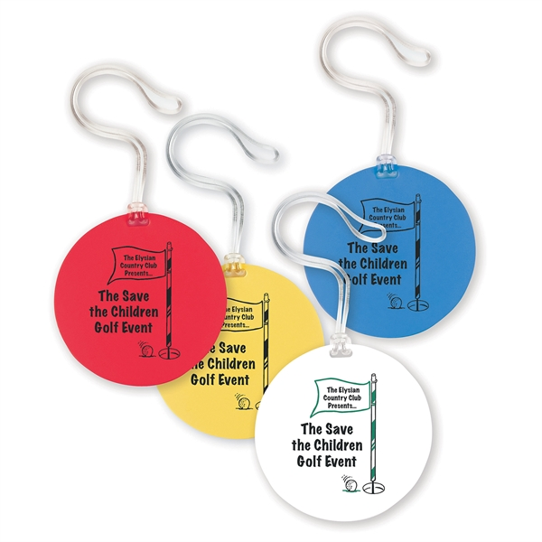 Printed Round Bag Tag
