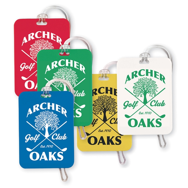 Printed Rectangular Bag Tag