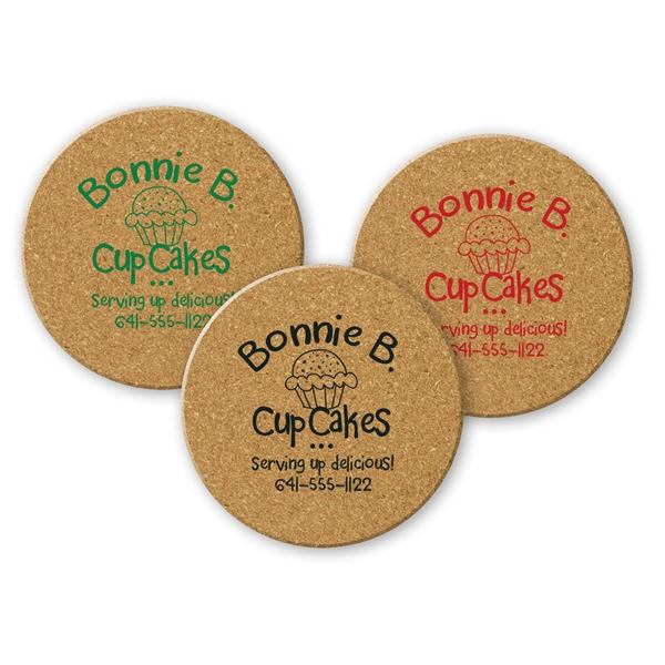 Promotional Round Cork Coaster