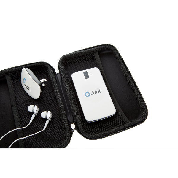Promotional Power bank, AC Charger and Earphone Set
