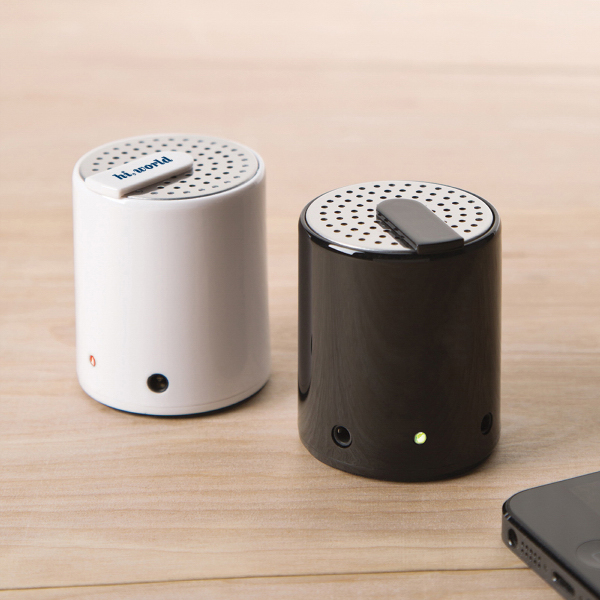 Custom Salt & Pepper Plastic Housing Bluetooth Speaker