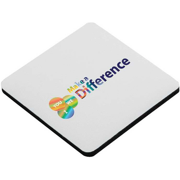 Personalized Square Foam Coaster
