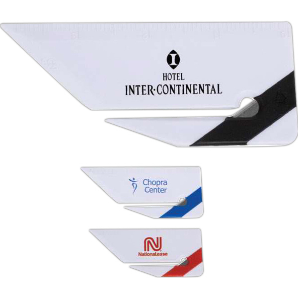 Personalized Targetline Mini Letter Opener with Ruler