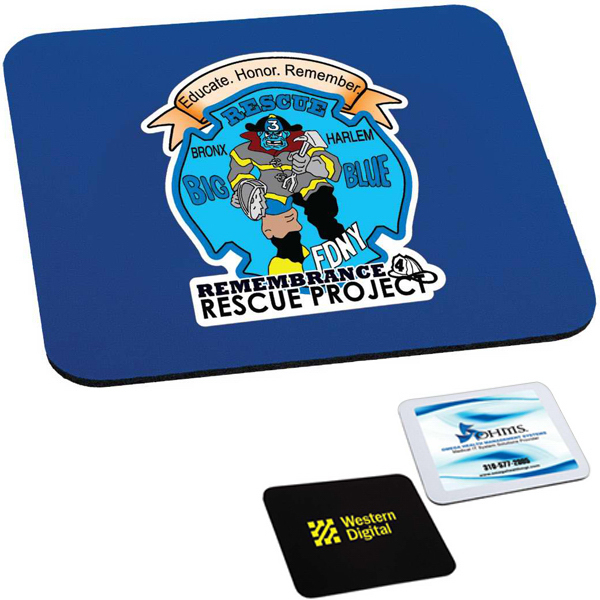 "Customized Targetline Rectangle Mouse Pad (1/4"" Thick)"