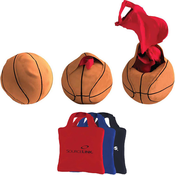 Personalized Basketball Full Color Reusable Tote Bag