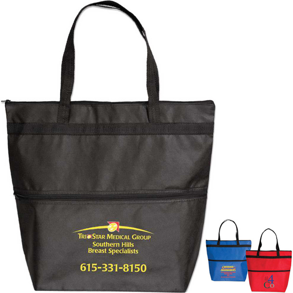 Promotional TargetlineFashion Zipper Tote Bag