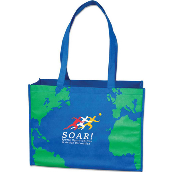 Personalized Targetline Earth Tote Bag