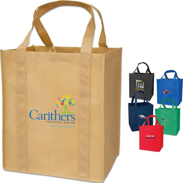 Printed Targetline Large Grocery Tote Bag