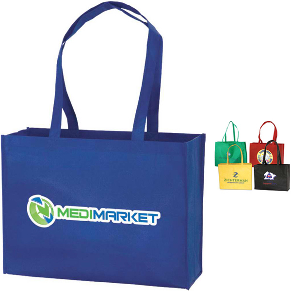 Imprinted Targetline Large Tote Bag