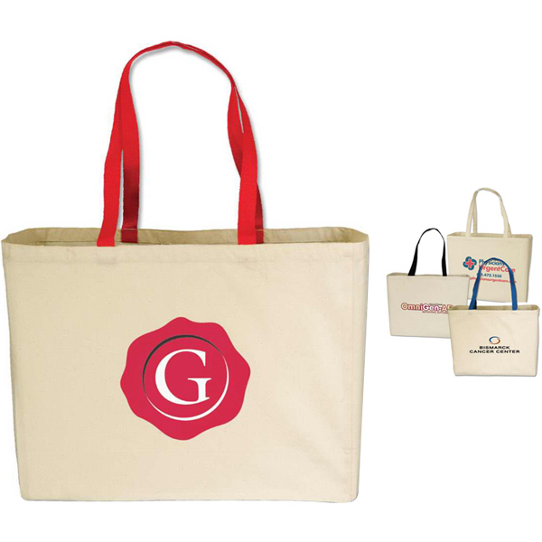 Printed Targetline Large Cotton Tote Bag