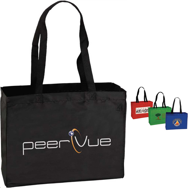 Printed Targetline Medium Polyester Trade Show Tote Bag