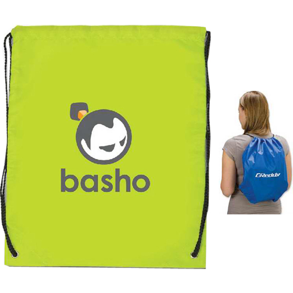 Promotional Targetline Large Drawstring Backpack
