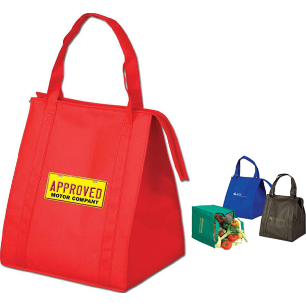 Customized Targetline Large Insulated Grocery Tote Bag