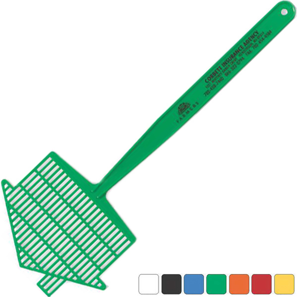 Imprinted Medium House Fly Swatter