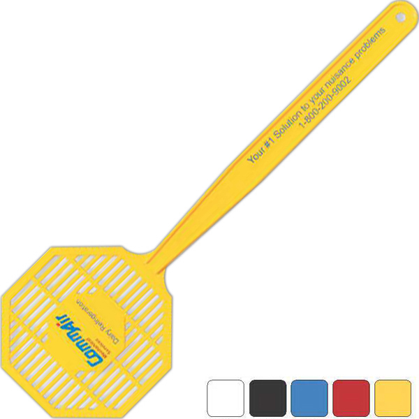 Imprinted Medium Stop Sign Fly Swatter
