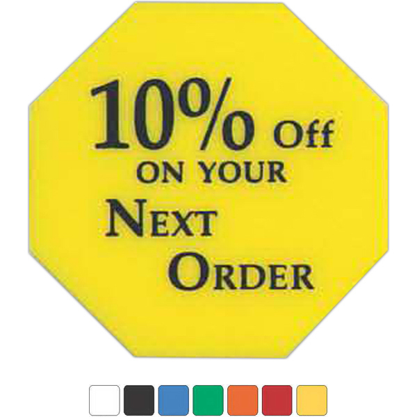 Promotional Stop Sign Token