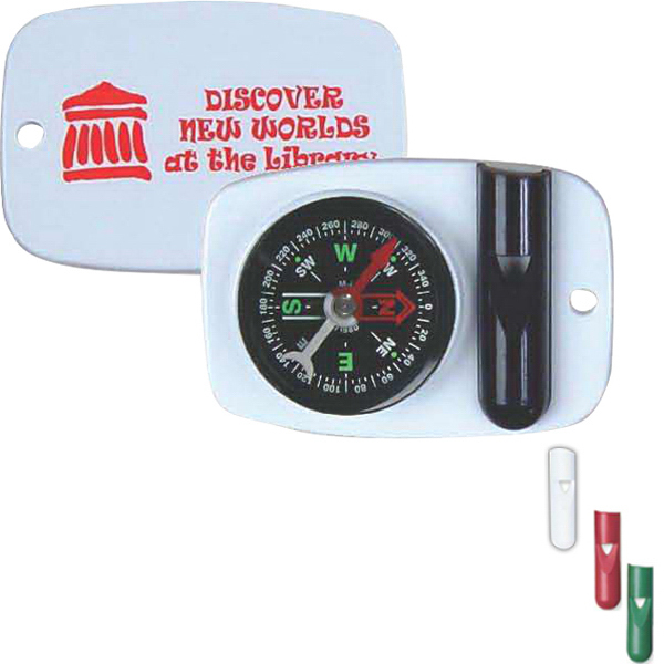 Promotional Compass Whistle